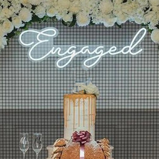 engagement party neon sign hire auckland nz