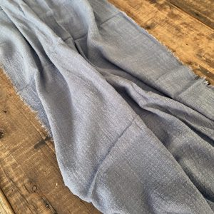 stormy blue cheesecloth gauze table runner hire nz
