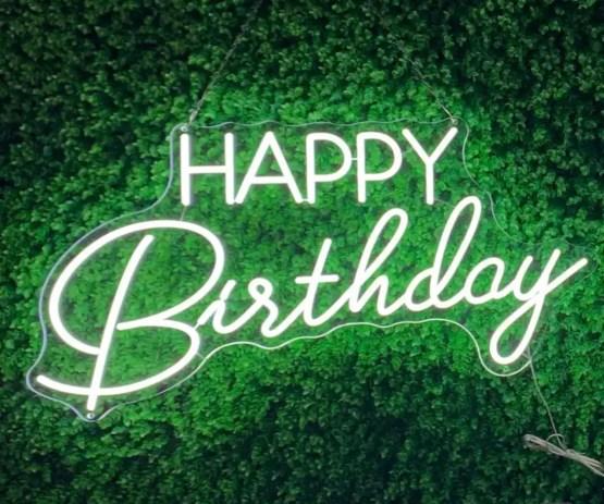 happy birthday neon hire nz