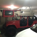 Jeep Hard Top Hoist System