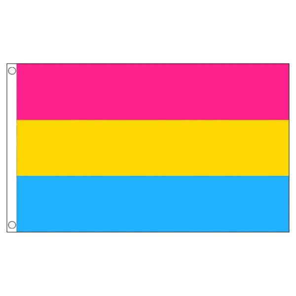 buy pansexual lgbt pride 5' flag online