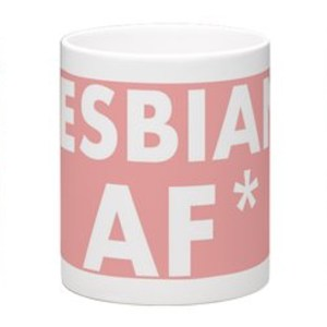 LESBIAN AF Mug