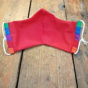 Handmade LGBT Rainbow Reusable Face Mask