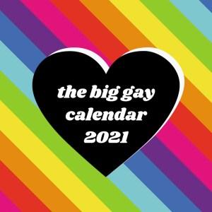 the big gay calendar 2021 lgbt