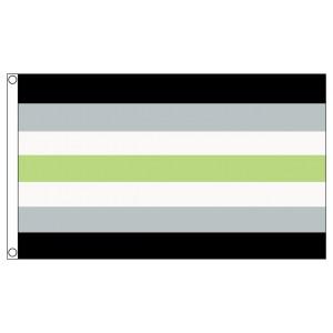 buy agender lgbt pride 5' flag online