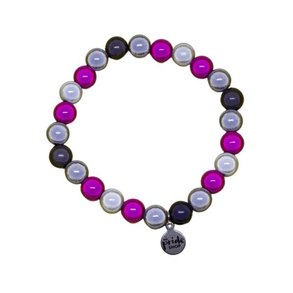 demigirl holographic pride bracelet