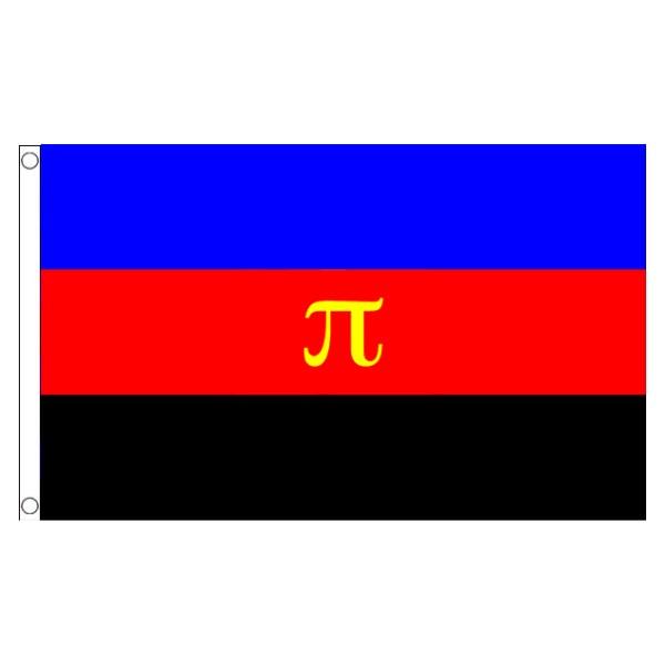 buy polyamorous lgbt pride 5' flag online