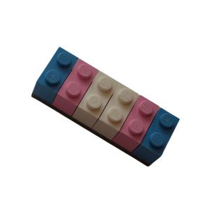 transgender lego brick fridge magnet