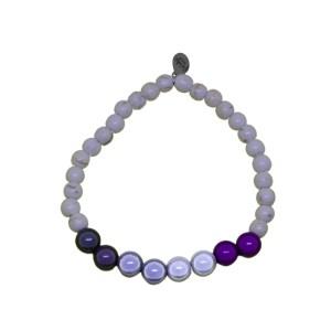 asex stone pride bracelet