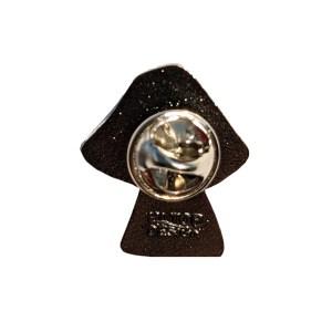 Bisexual Mushroom Pride Metal Pin Badge