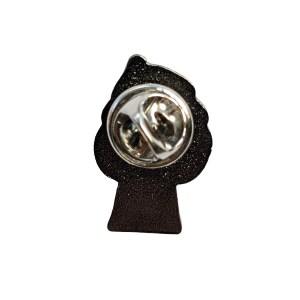 Pansexual Mushroom Pride Metal Pin Badge