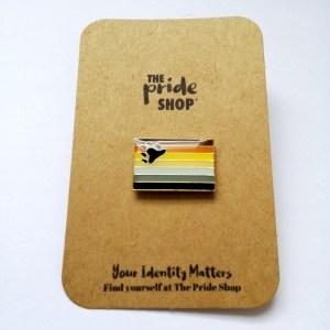 Bear Flag Pin Badge