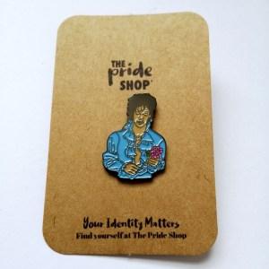 Prince Face Pin Badge