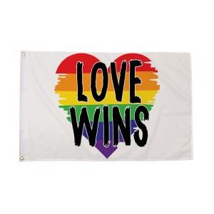 5' Love Wins Pride Flag