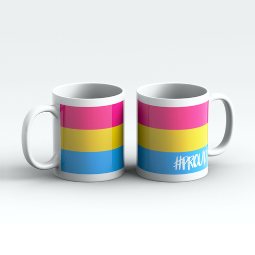 PANSEXUAL #PROUD Pride Mugs Pair