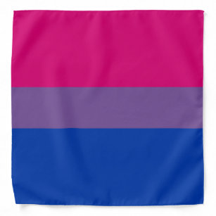 Bisexual Pride FLag Bandana