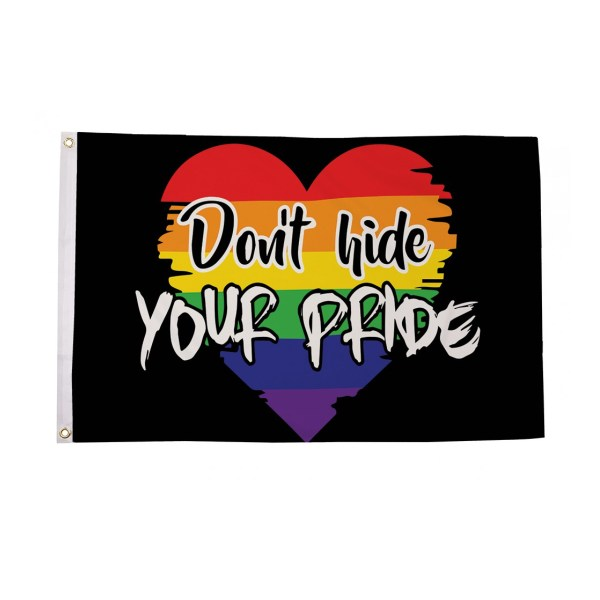 Don't Hide Your Pride Flag