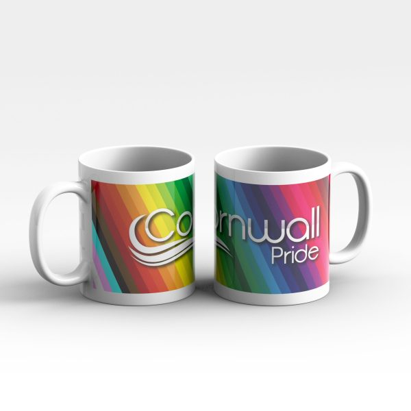 Cornwall Pride Logo Stripe Mug 2s