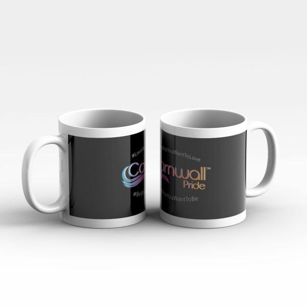 Cornwall Pride #Love Who You Want To Mug 2s