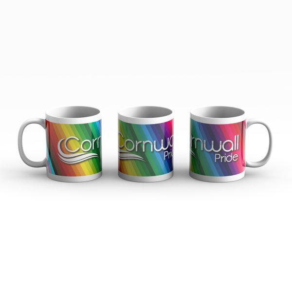 Cornwall Pride logo Mug 3 way