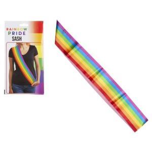 Gay Pride Rainbow Sash