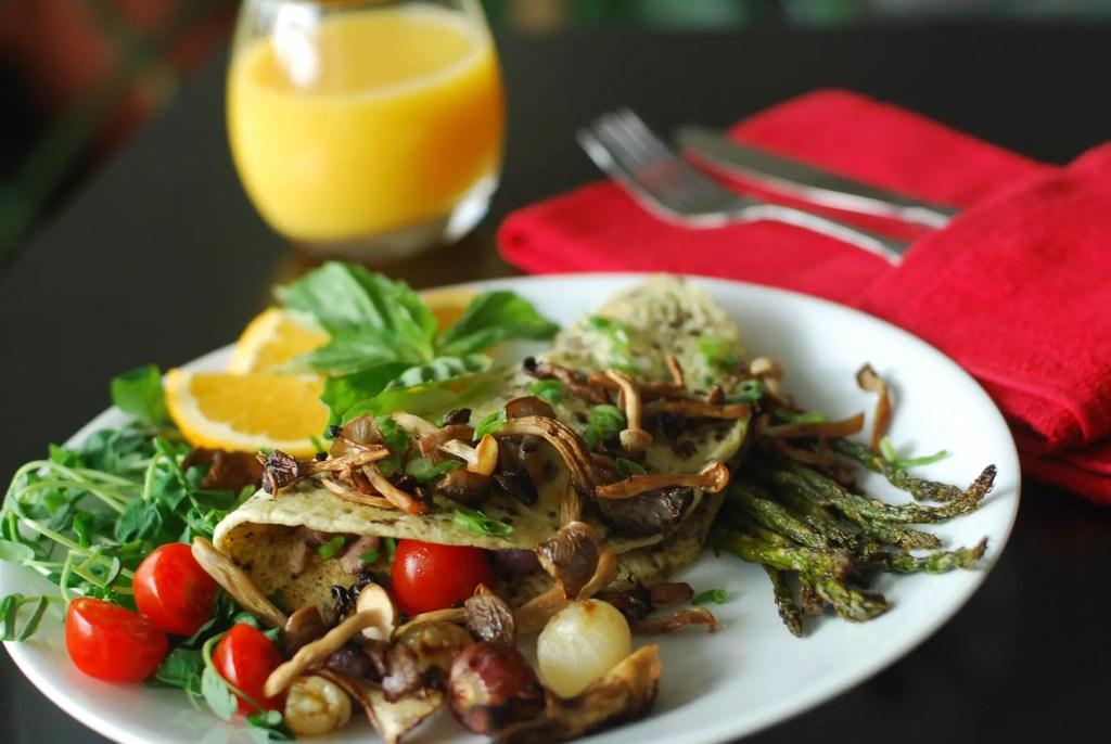 Paleo Duck Egg Omelet Omelette - www.ThePrimalDesire.com