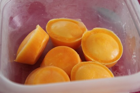 Frozen Yolks to be used at a later date