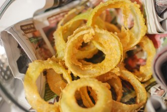 Paleo Bacon Wrapped Onion Rings - www.ThePrimalDesire.com