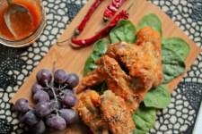 Peach Chili Chicken Wings - www.ThePrimalDesire.com
