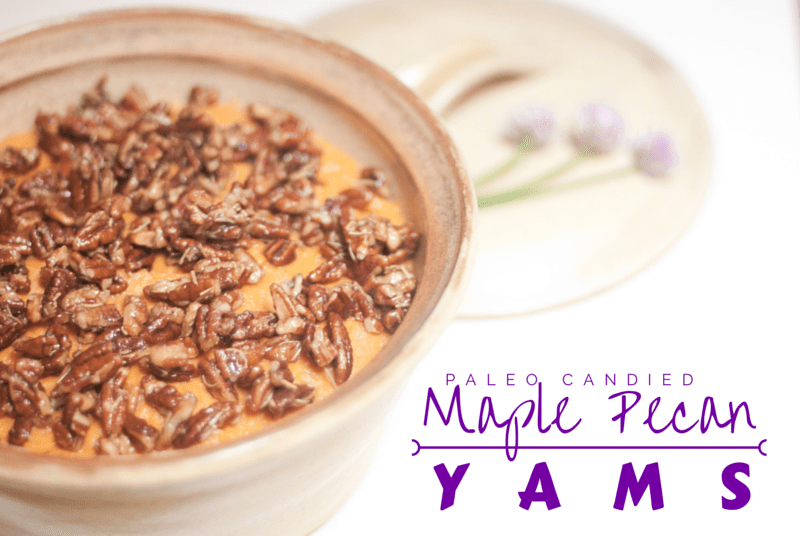 Candied Maple Pecan Yams