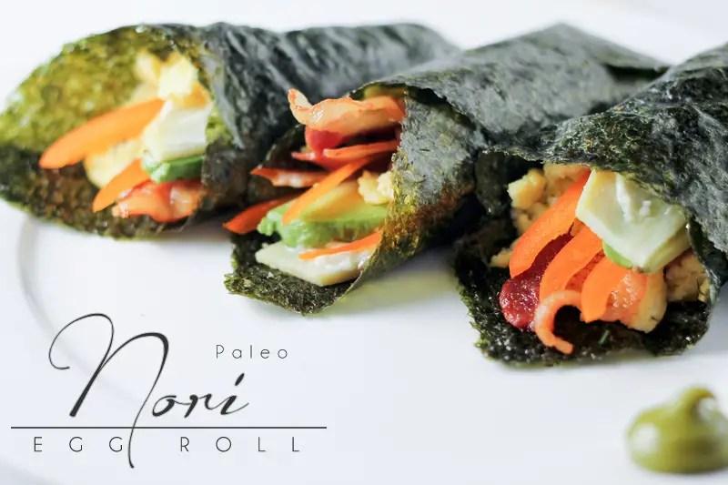 Paleo Nori Egg Roll