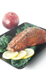Even with its unexpected origin, Pomegranate Glazed Salmon will surprise you with its tastiness... and its story! http://wp.me/p4Aygm-1LU