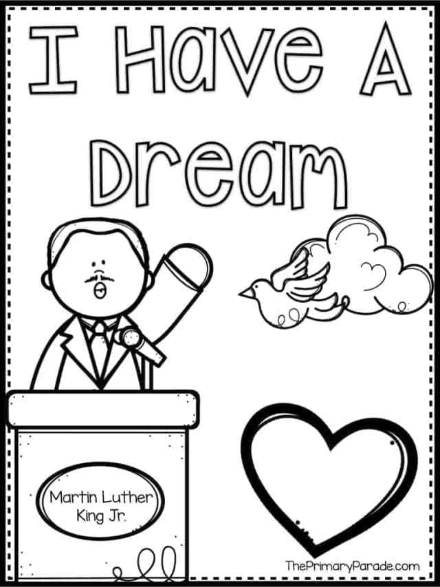 Martin Luther King Jr Activities - The Primary Parade