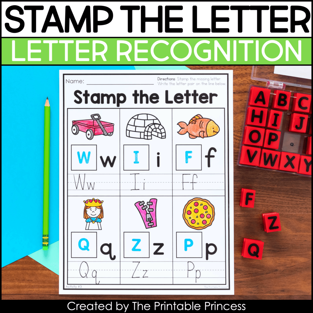 Letter Matching Uppercase And Lowercase Worksheets