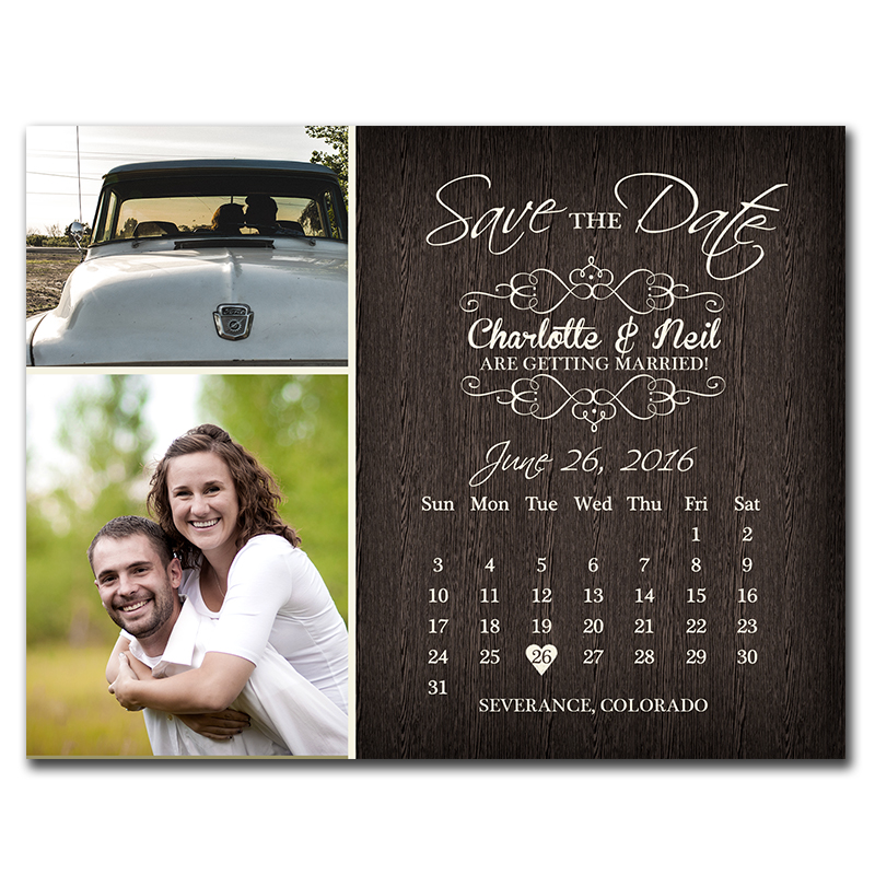 Order Save Date Postcards