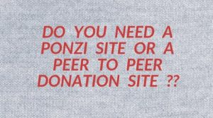 Ponzi sites