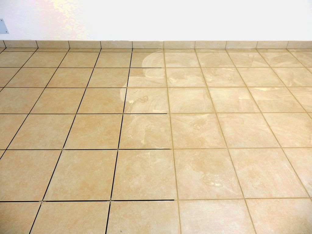 grout cleaning tile regrouting
