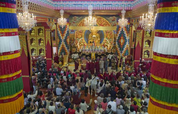 The new Thrangu Monastery was officially opened on Sunday, July 25, 2010.
