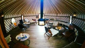 Yurts for Life – Devon company makes final for UK Startups Award