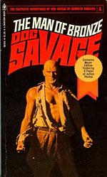 "Bantam's ""Man of Bronze"" paperback"