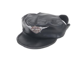 Harley Davidson Vinyl Cap Black X Small