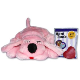 Snuggle Pet Products Snuggle Puppies Behavioral Aid Toy for Pets, It's a Girl, Pink