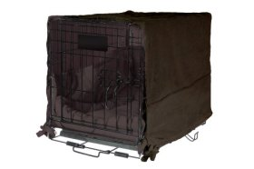 Sofantex Luxury Plush Cratewear Set, Fits 48-Inch Crates, Coco Brown, 3-Piece
