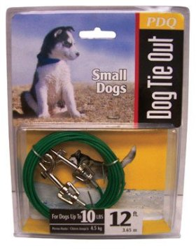 Boss Pet Products Q2212-000-99 Puppy Tie Out Cable 12′