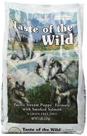 DIAMOND PET FOODS 74198611157 Tow Pacific Stream With Smoked Salmon/Puppy Foodsfor Pets, 5-Pound Bag
