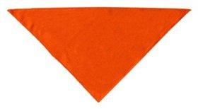 Dog Supplies Plain Bandana Orange Large