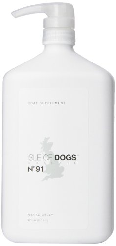 Isle of Dogs Coature No. 91 Royal Jelly Coat Supplement for Dogs with thin or shedding coats, 1 liter