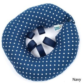 Puppy Bumper – Keep Your Dog on the Safe Side of the Fence – Navy Dot – 13-16″