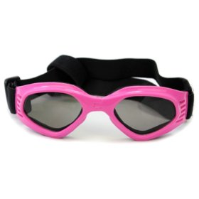 Fashion Pet Dog Cat Goggle UV Sunglasses Eye Wear Protection Gift – Pink