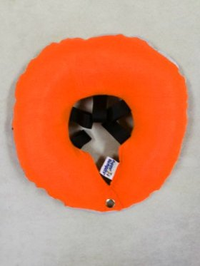 Puppy Bumpers Glow Pup BumperTM Now Protect Your Pup Night and Day – Orange Small